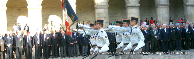 "CEREMONIES d'hommages ""ECOLE CHERCHELL"""