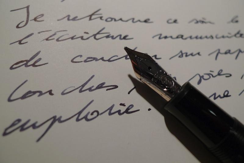 montblanc stylo bonheur
