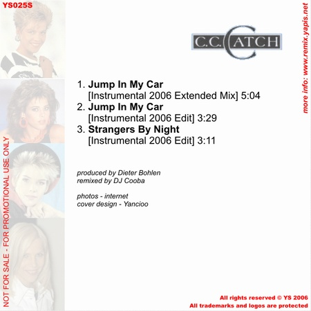 C.C.Catch - Jump In My Car 2006