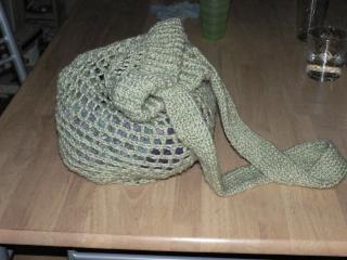 tricotin circulaire sac