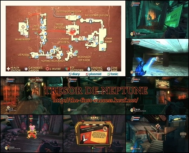 Bioshock enregistrements audio for Bioshock jardin de las recolectoras