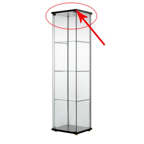Informations sur les vitrines for Vitrines conforama