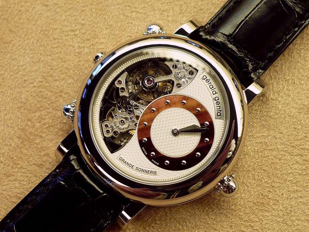 Une montre d 39 exception g rald genta grande sonnerie for Grande sonnerie