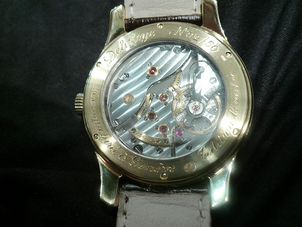 salon belles montres   nicolas delaloye