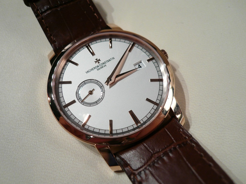 A beauty : the Vacheron Patrimony Traditionnelle Automatique
