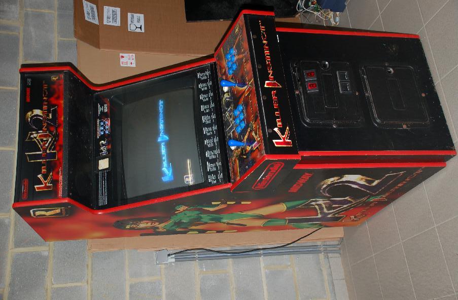 borne arcade mortal kombat a vendre