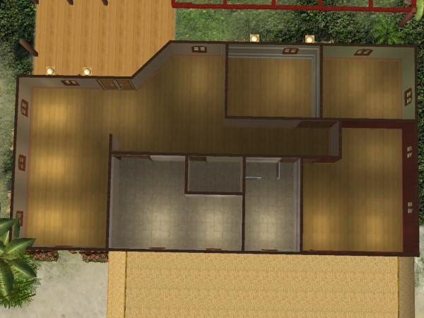 Decoraci n de interiores for Planos de casas sims