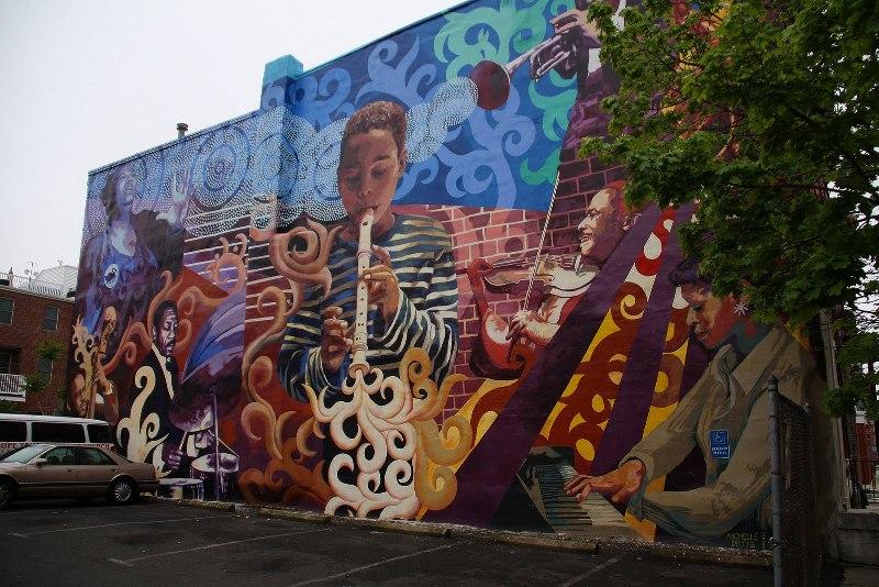Streetview les fresques murales de philadelphie page 7 - Fresque carrelage mural ...