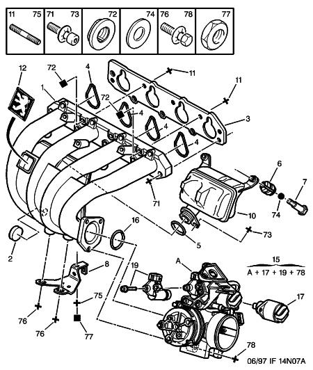 schema moteur peugeot 406 essence