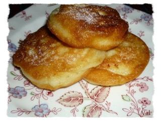 Blog de valsixt : Les gourmandises de Val, Beignets aux pommes