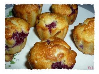 Blog de valsixt : Les gourmandises de Val, Muffins coeur de framboises