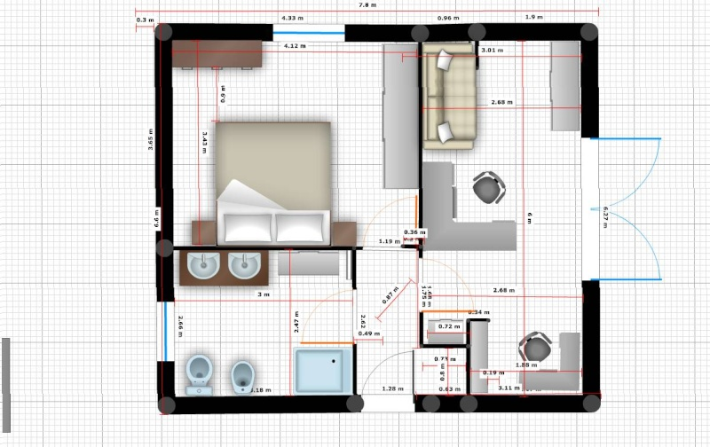 Besoin d 39 aide pour plan d 39 une extension 20 messages page 2 for Plan amenagement interieur