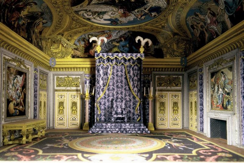 Exposition tr nes en majest l 39 autorit et son symbole page 3 - Salle du trone versailles ...