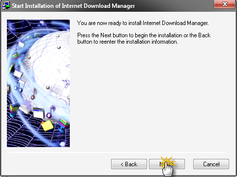 الصاروخي Intnet Download Manager Beta