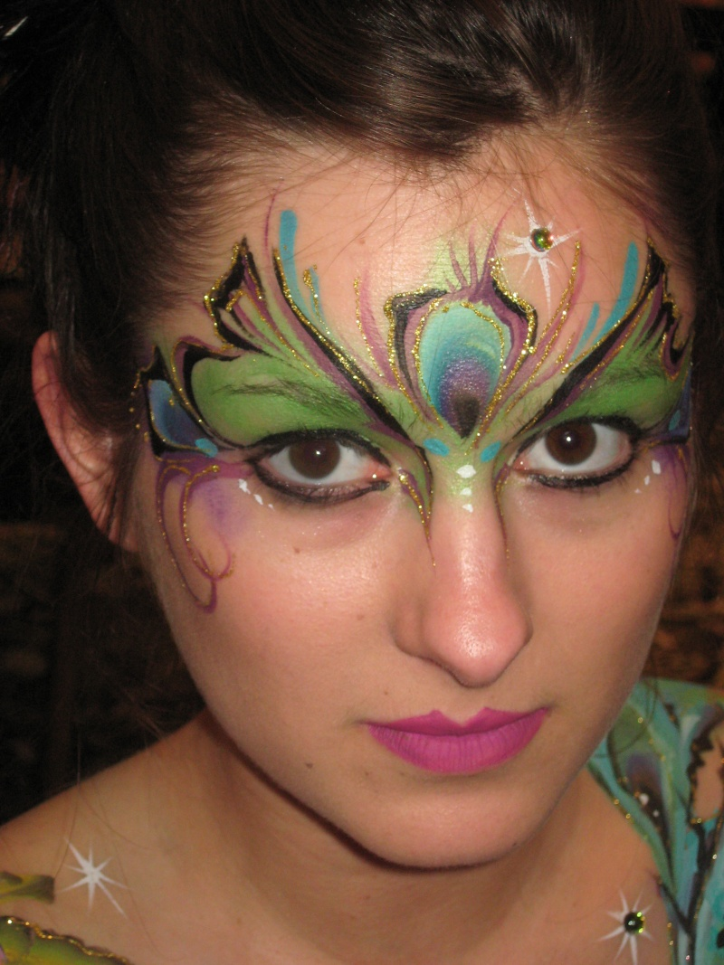 Face Painting Rose Personally I Paint 90 From