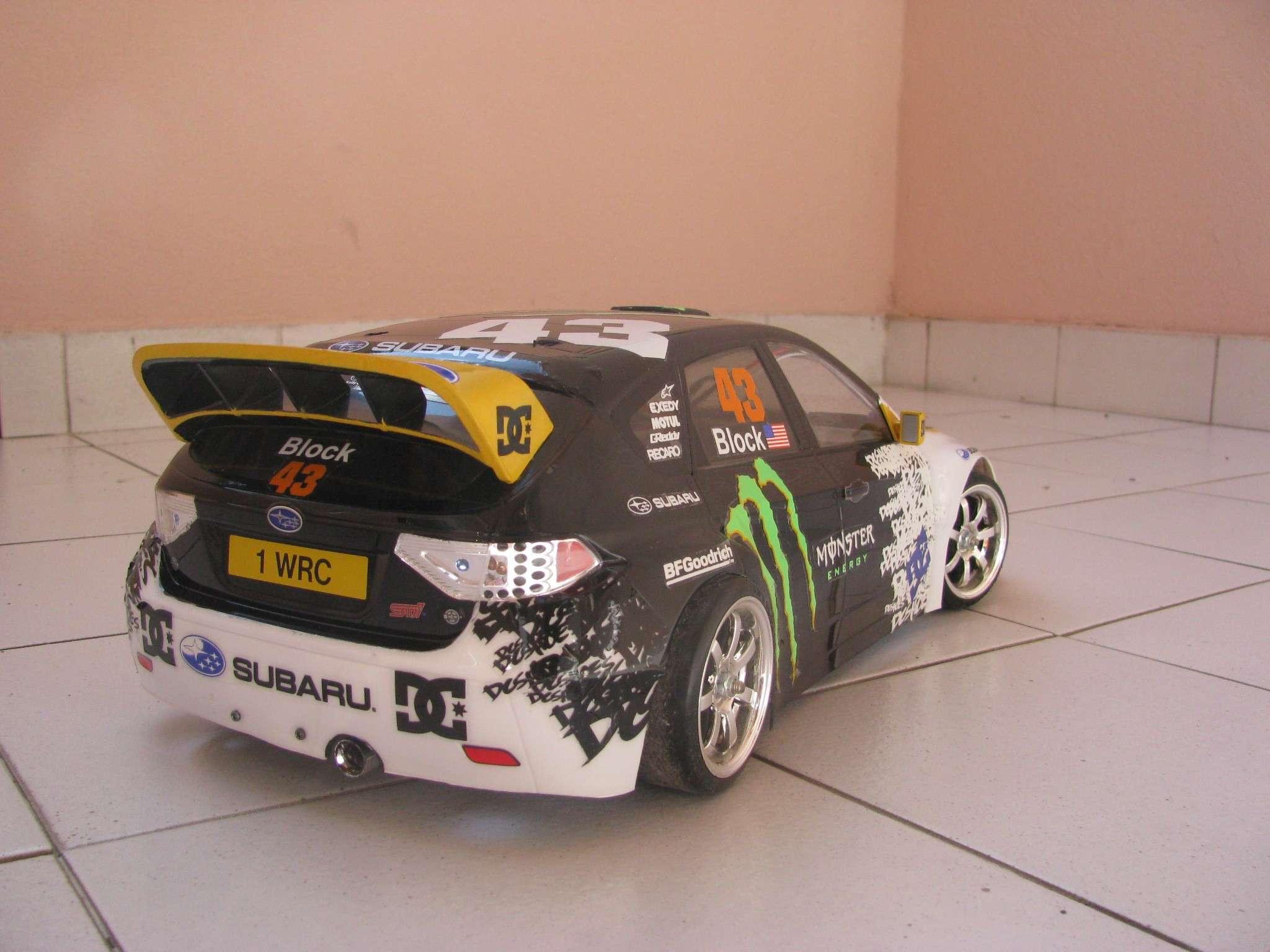 Denise Milani Hot, Subaru Monster Energy Replica