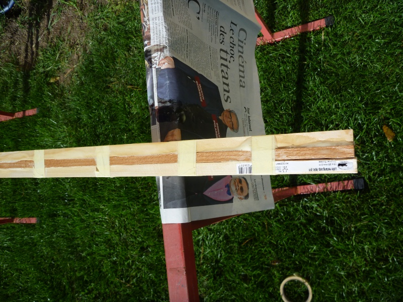 Fabrication d 39 une paddle en bois - Fabrication d une chaise en bois ...
