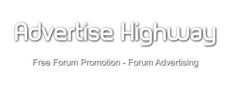 Advertise Highway - Free Forum Promotion - Forum Advertising