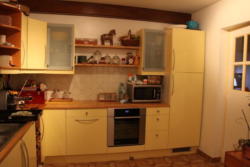 Peinture cuisine help idee de credence for Peinture speciale credence cuisine
