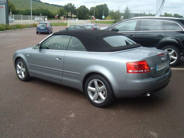2005 audi a4 cabriolet 1 8t multitronic related infomation specifications weili automotive network. Black Bedroom Furniture Sets. Home Design Ideas