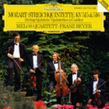 Mozart - Melos Quartet featuring Franz Beyer - String Quintets K 515, 516 [1987]