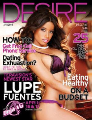 Desire Magazine - April - 2010