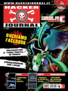 Hacker Journal Nr 203 - Luglio 2010