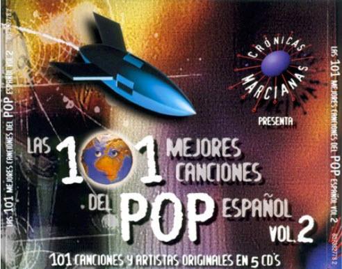 Las 101 mejores canciones del pop espanol - vol.2-2000