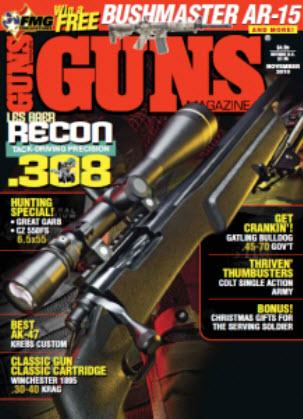 Guns Magazine, November 2010