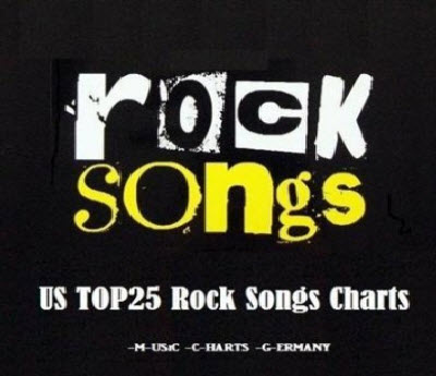 VA - US TOP25 Rock Songs Charts 16 04 2011 (2011)