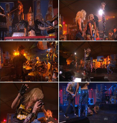 Ke$ha - Backstabber (Jimmy Kimmel Live) (2011)