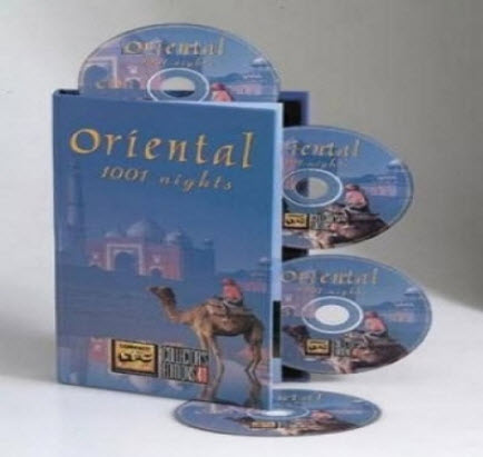 VA - Compact Disc Club - 1001 Oriental Nights - 2005