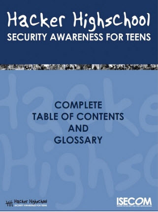 Hacker High School: Security Awareness for Teens