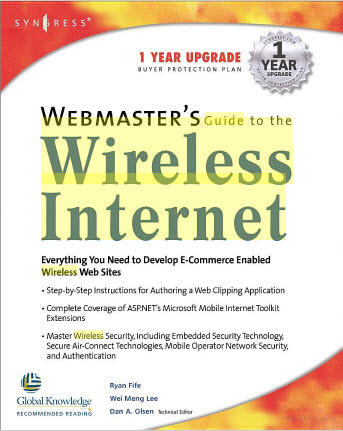 Webmasters Guide To The Wireless Internet