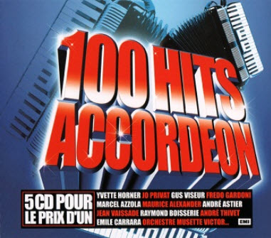 VA - 100 Hits Accordeon (5CD BoxSet) (2008)