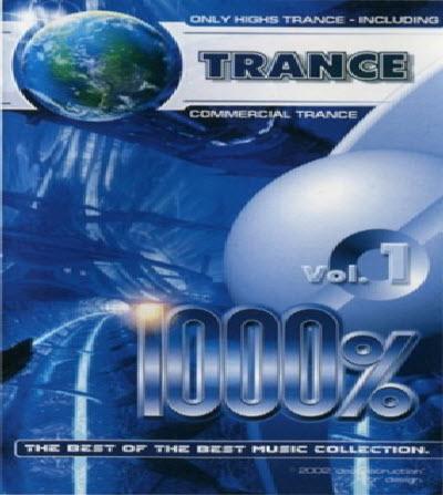 VA - 1000% Trance VOL 1-commercial trance - 2002