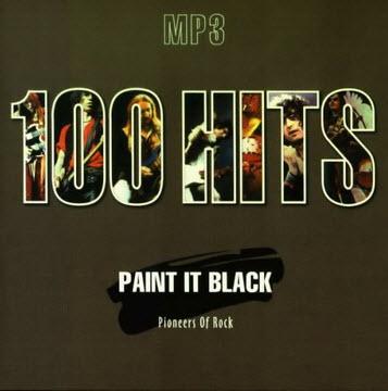 VA - 100 Hits Paint it Black, Pioneers of Rock [5CD Set]