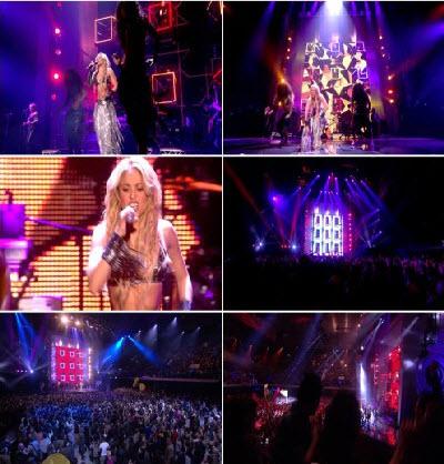 Shakira - Loca & Waka Waka (Live MTV EMA) (2010)