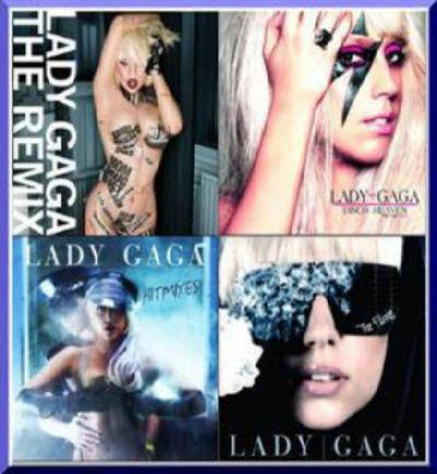 Lady GaGa - Albums (2008-2010)