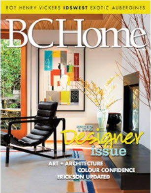 BC Home Magazine Fall 2010 - The Designer Issue