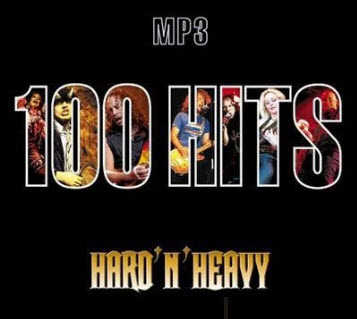 VA - 100 Hits - Hard and heavy (2008)