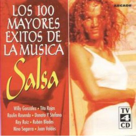VA - Los 100 Mayores Exitos de la Musica Salsa.4 CDs-1997