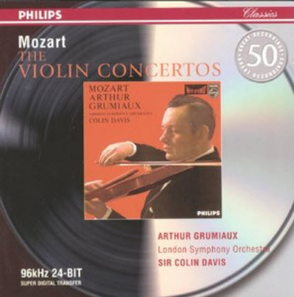Mozart: The Violin Concertos (2001)