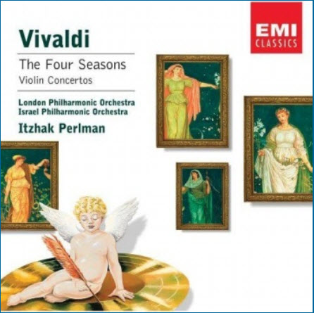 Antonio Vivaldi - The Four Seasons And Violin Concertos (Itzhak Perlman) (2002)