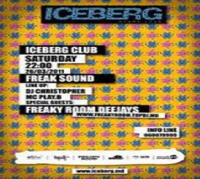 DJ Christopher & Freaky Room - Live @ ICEBERG Club (26.03.11)