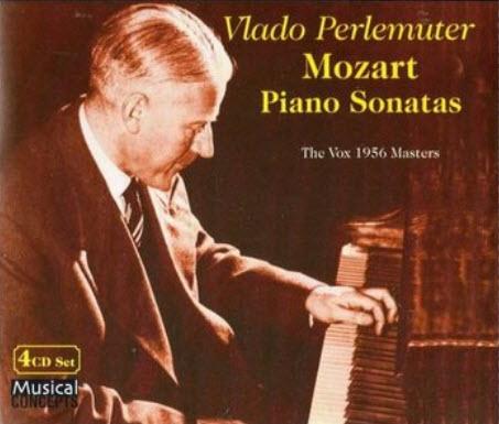 Vlado Perlemuter - Mozart Piano Sonatas (2007) [FLAC]