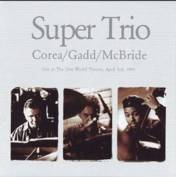 Chick Corea / Steve Gadd / Christian McBride – Super Trio (2006)