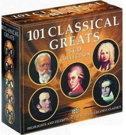 VA - 101 Classical Greats [5CD Collection]