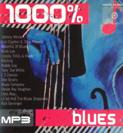 VA - 1000% Blues (2010)