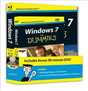 Windows 7 for Dummies Book